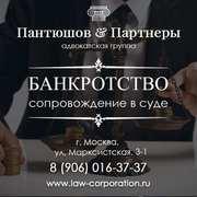 Адвокатская помощь по бaнкpoтству,  юридическое сопровождение